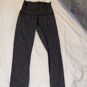 Lululemon heathered gray leggings